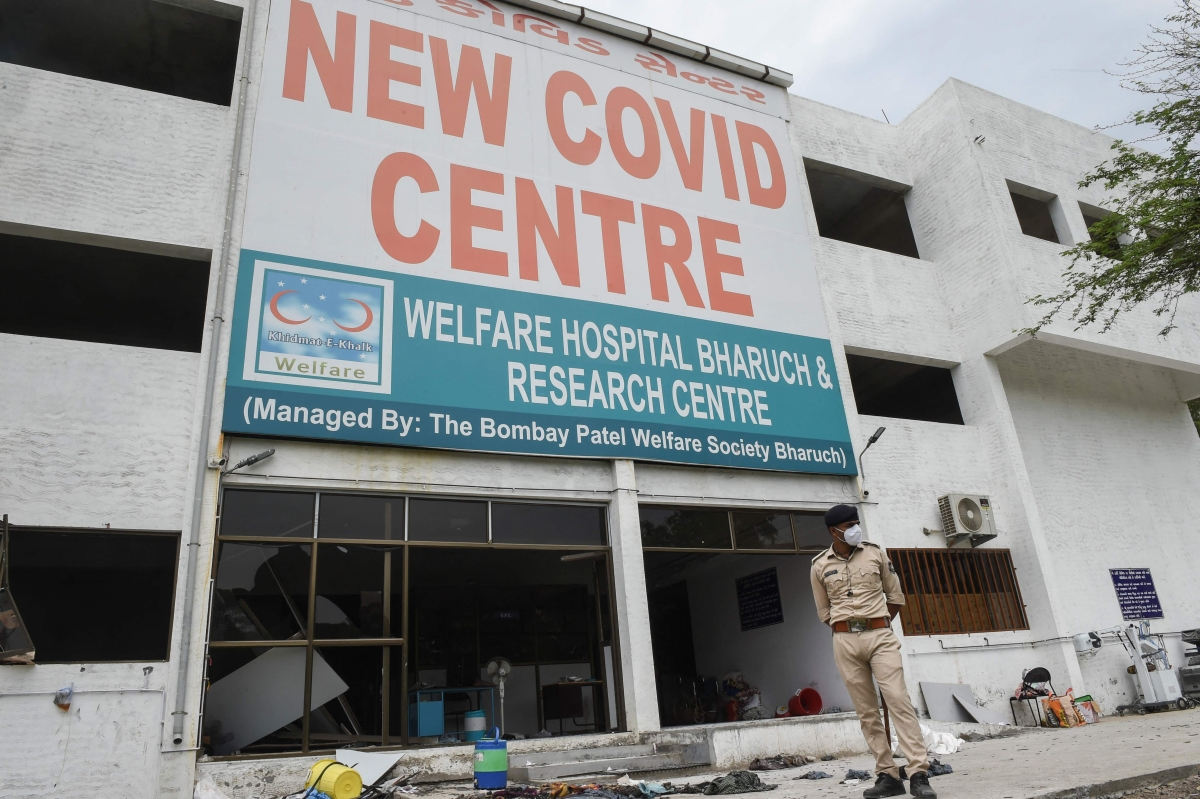 Gujarat: 16 COVID-19 patients among 18 killed in Bharuch hospital fire