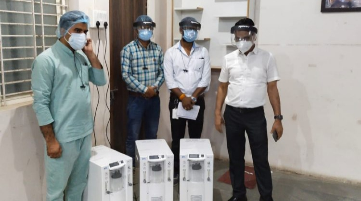 Barwani: Administration recovers missing oxygen concentrator machine