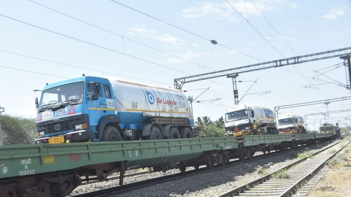Govt approves Rs 1 crore advance to Railways for oxygen trains