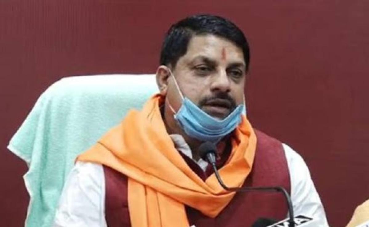 Higher education minister Mohan Yadav