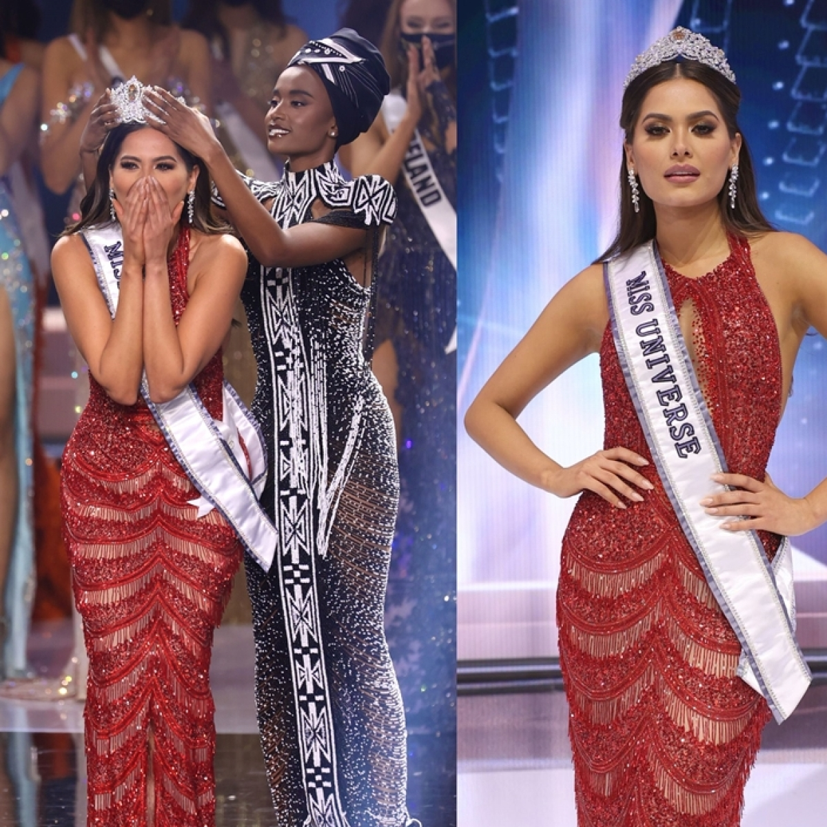 Andrea Meza of Mexico crowned Miss Universe 2021