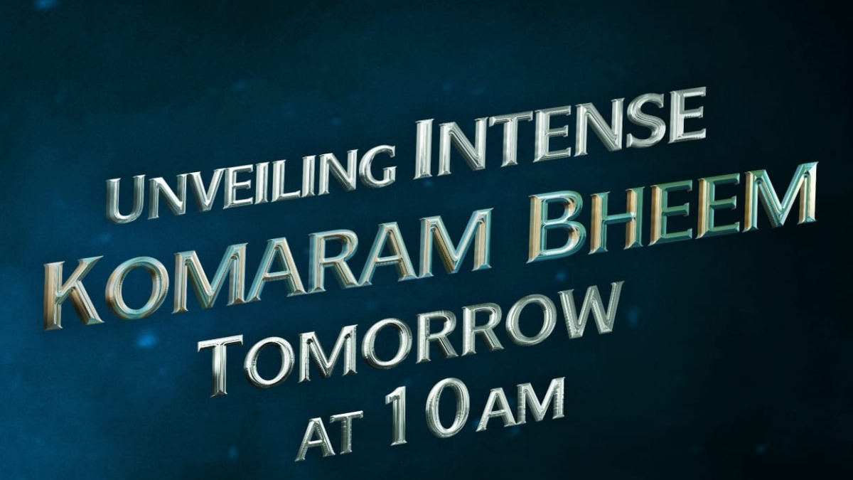 'RRR' makers to unveil Jr. NTR's 'intense' Komaram Bheem look on star's birthday