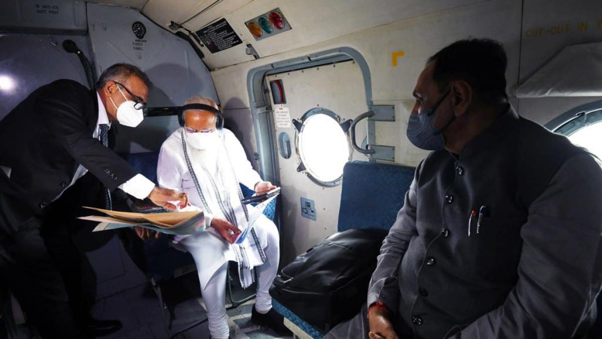 Cyclone Tautkae: MVA fumes over PM Modi's Rs 1000 crore aid for Gujarat