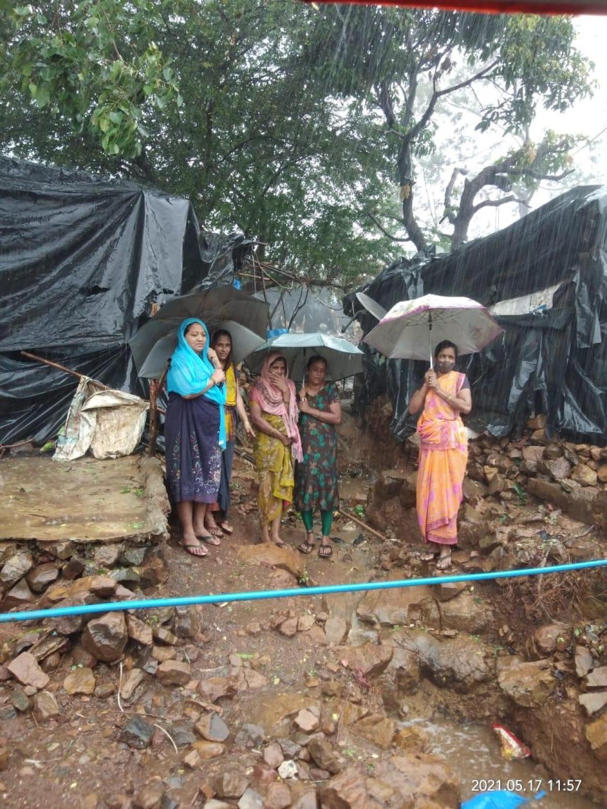 Mumbai: Cyclone devastates lives of residents of Kurar village