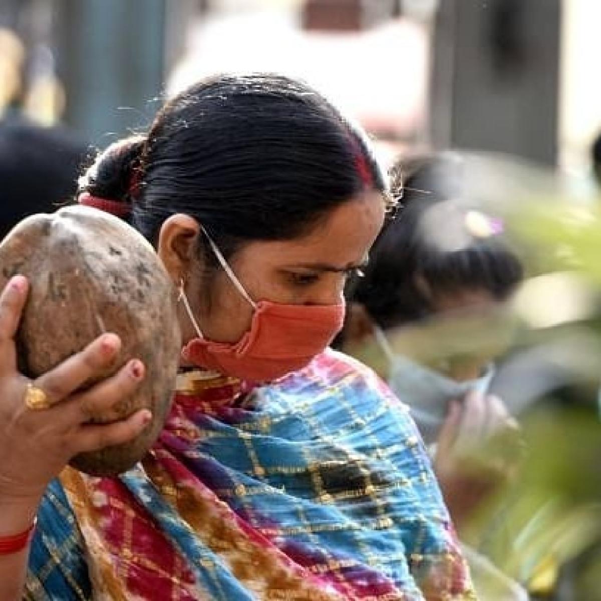 Chhattisgarh: Women fast, organise mass prayers in Rajnandgaon to please 'Corona Mata'