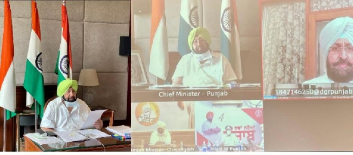 COVID-19: Punjab CM Capt Amarinder Singh urges Congress MPs to pressurize Centre to augment supplies of oxygen, tankers, vaccines