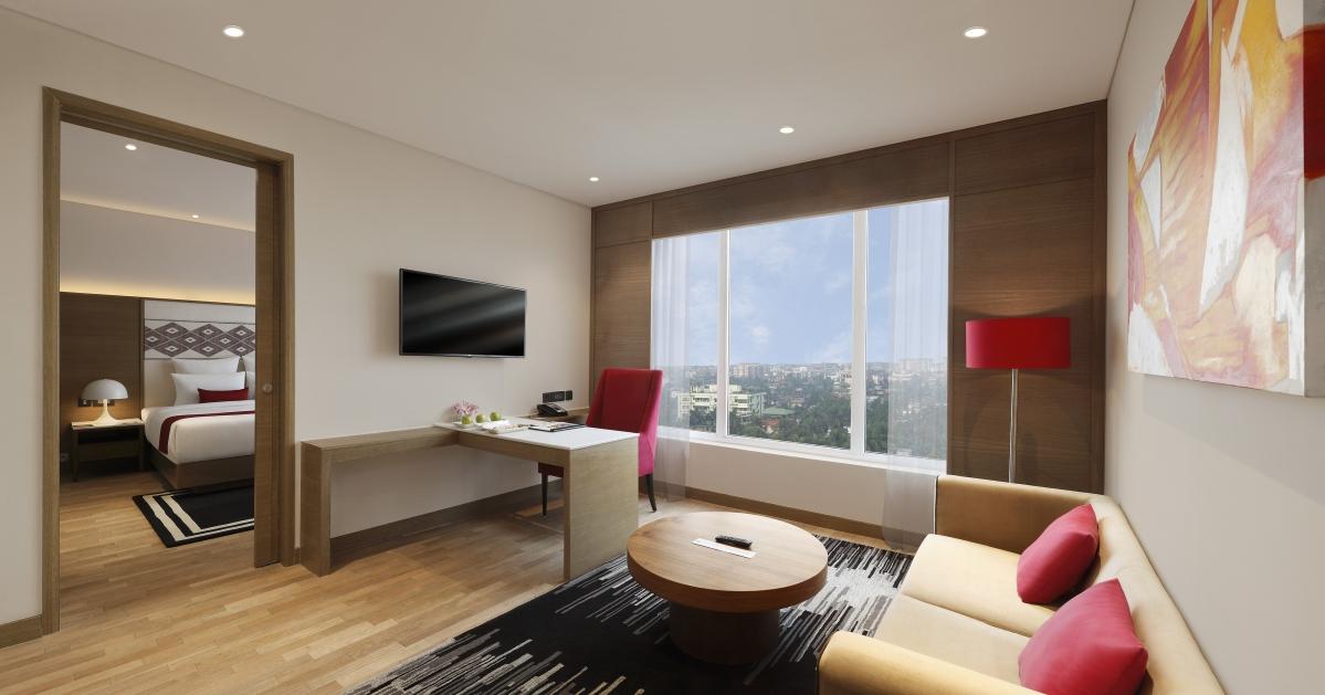 Suite living room, Novotel