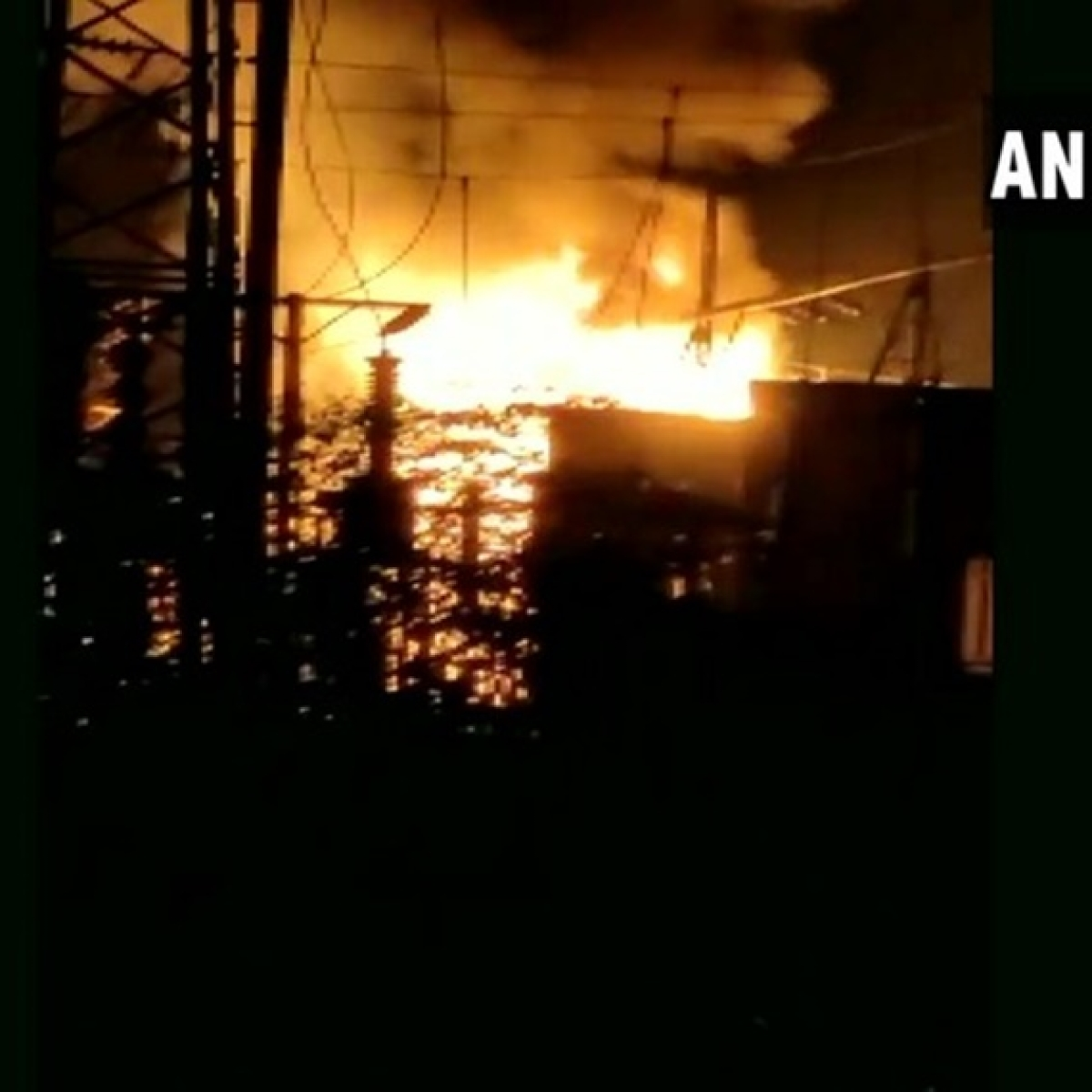Fire breaks out at electrical sub-station in Andhra Pradesh's Visakhapatnam, no casualty reported