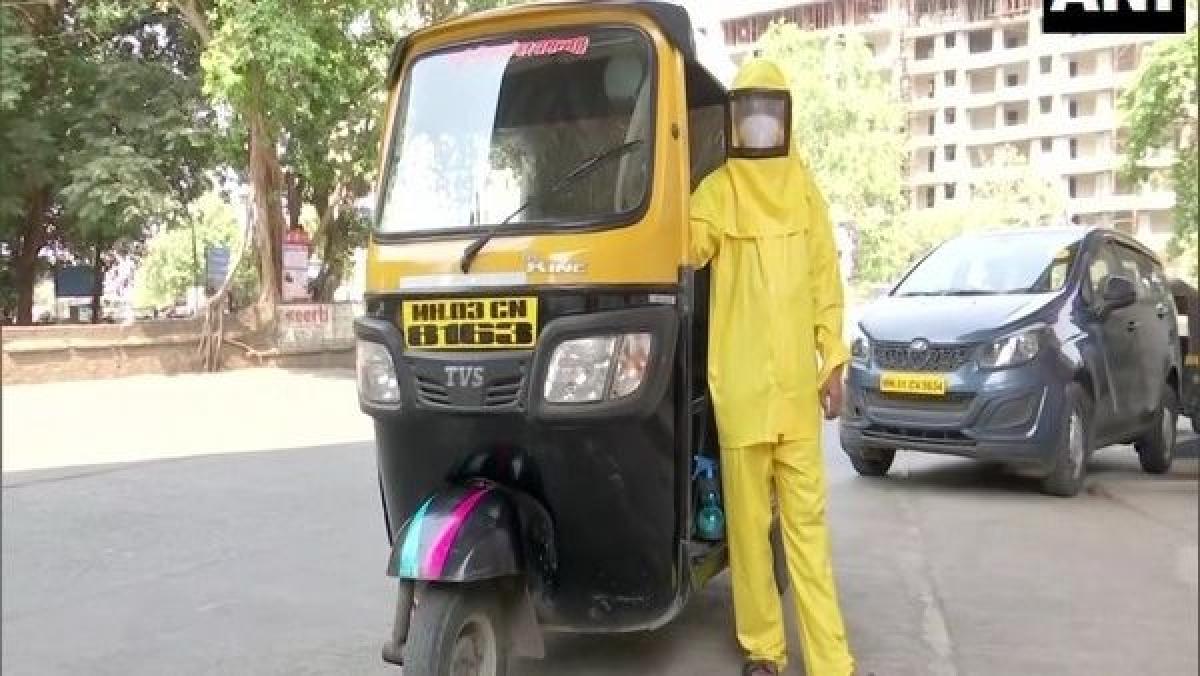 Meet Dattatraya Sawant - Mumbai teacher who drives auto-rickshaw to ferry COVID-19 patients for free