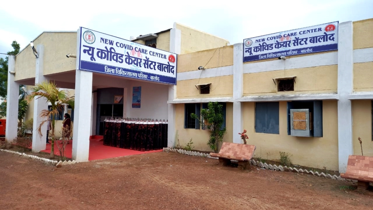 Chhattisgarh: Balod district officials and staff set up COVID-19 hospital at their own expense