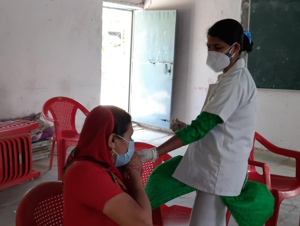 Vaccination in Meghnagar