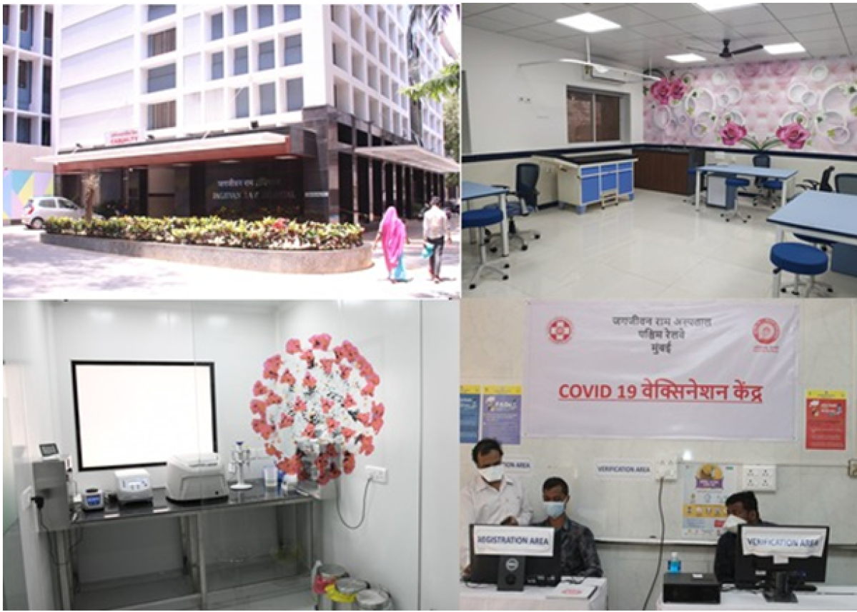 Western Railway bags Comprehensive Health Care Shield for excellence in medical performance