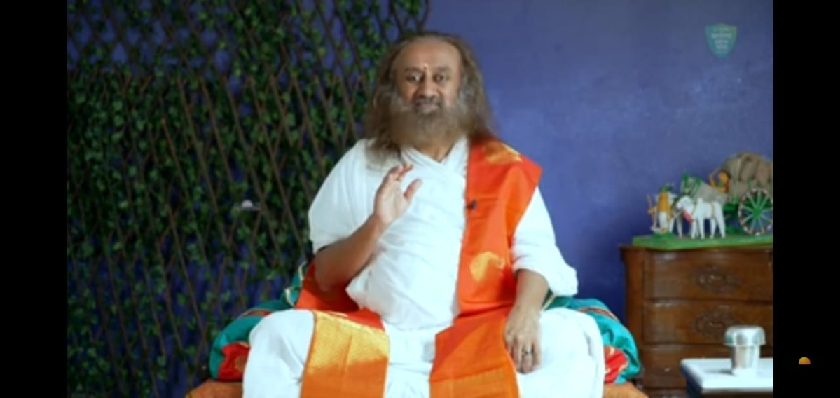 Indore: 20-minute meditation can lead one to a positive zone, says Sri Sri Ravishankar