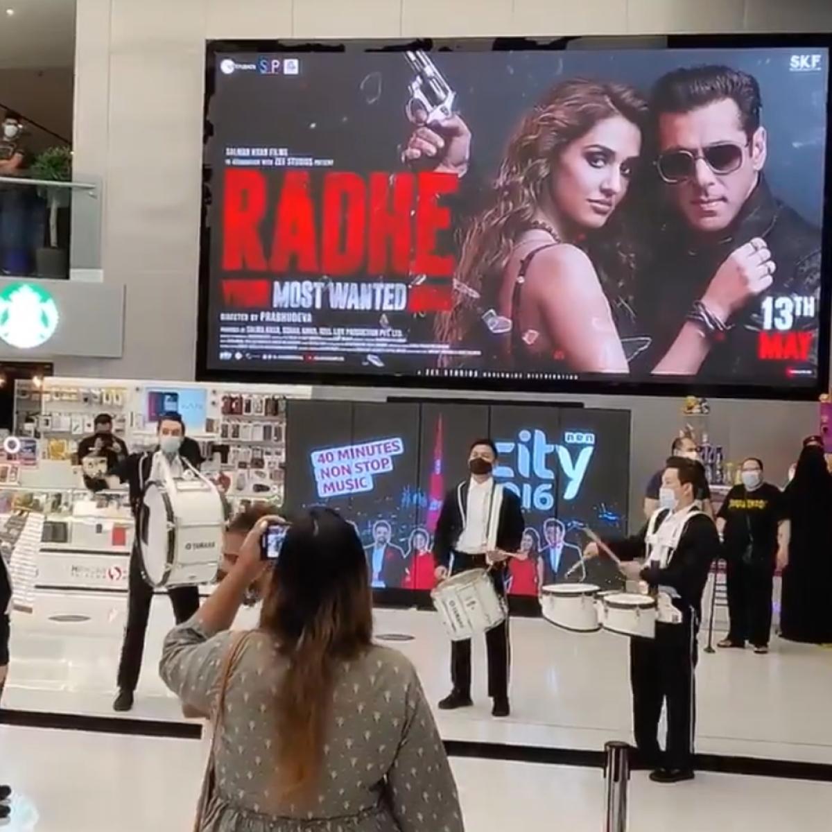 Watch: Dubai cinema hall welcomes Salman Khan's 'Radhe' premiere with 'band baaja'