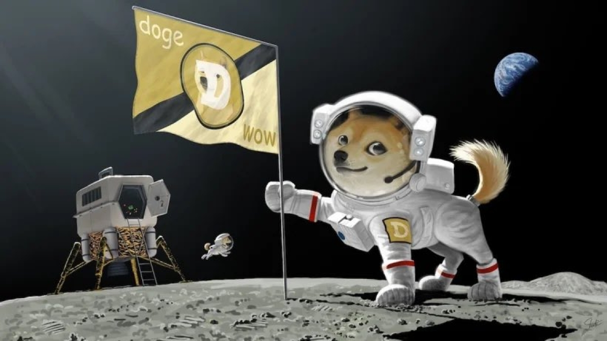 Elon Musk's SpaceX to send meme cryptocurrency Dogecoin soaring to the moon. Literally