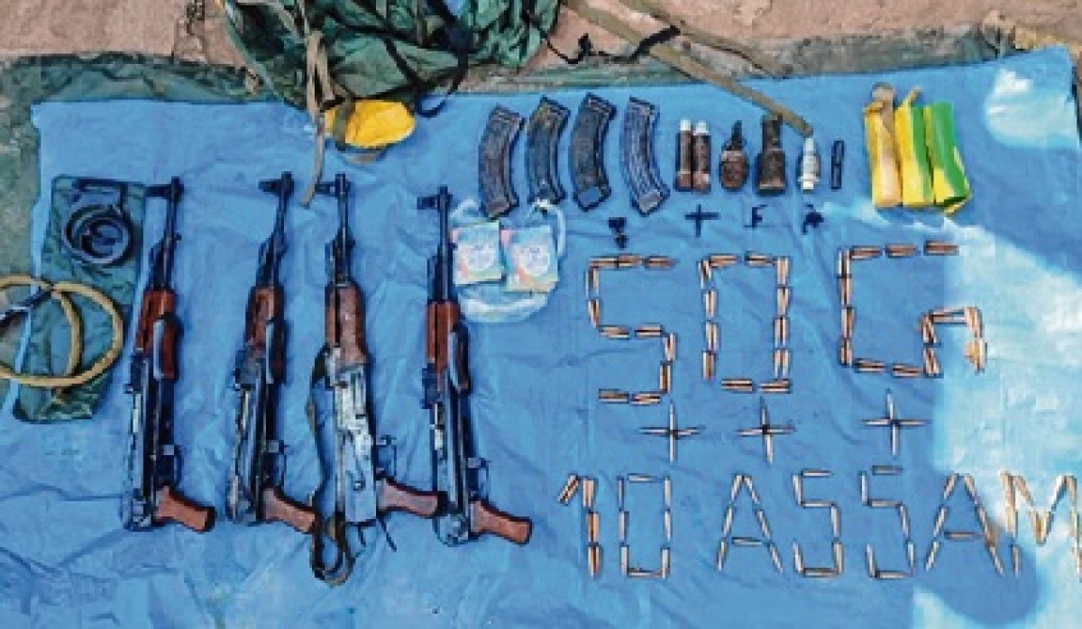 Huge cache of arms, ammunition recovered in J&K's Poonch district