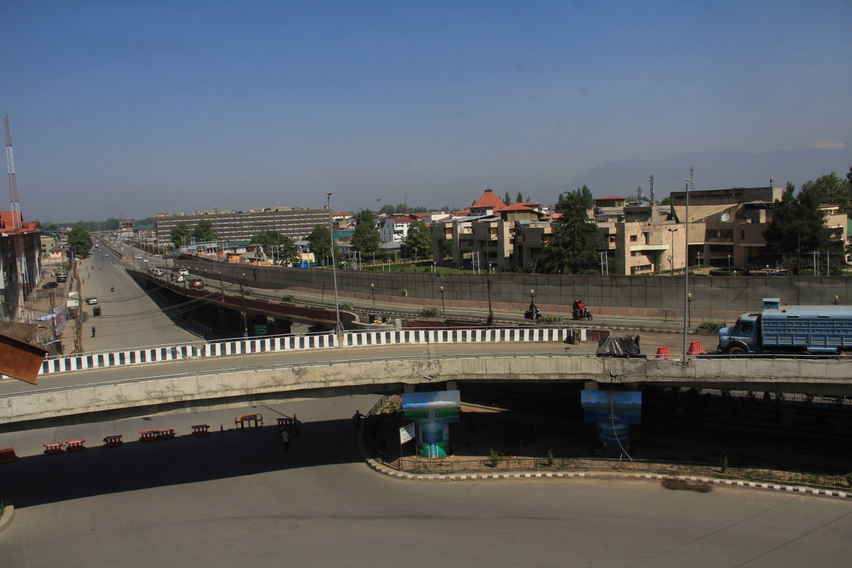 Roads across the valley continued to wear a deserted look as public transport remained off the roads and markets were shut.