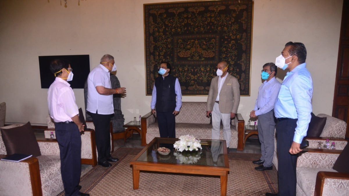 West Bengal post-poll violence: Home Ministry team meets Guv Jagdeep Dhankhar, to seek report