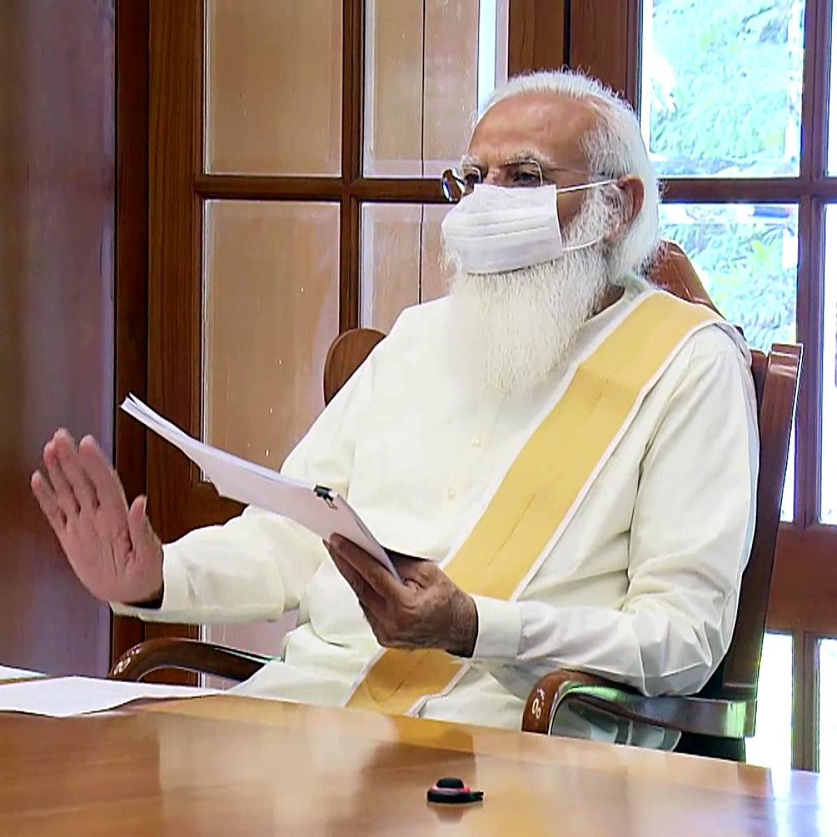PM Modi reviews COVID-19 situation with Chief Ministers of Rajasthan, Chhattisgarh, UP, Puducherry