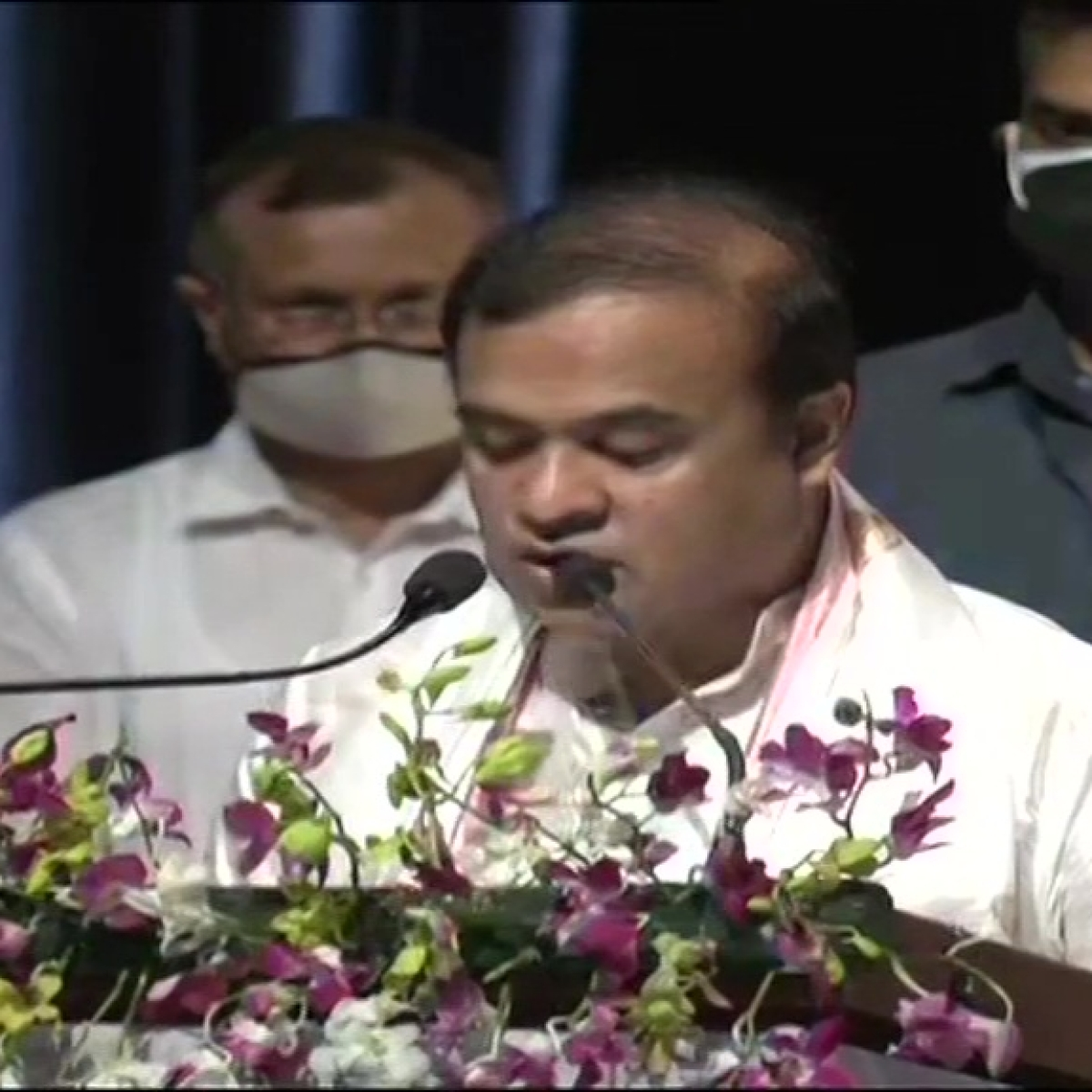 Himanta Biswa Sarma takes oath as new Chief Minister of Assam