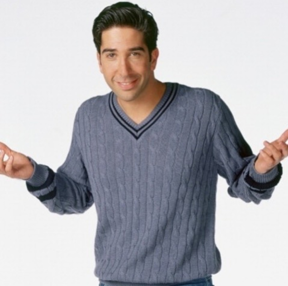 Ross played by David Schwimmer