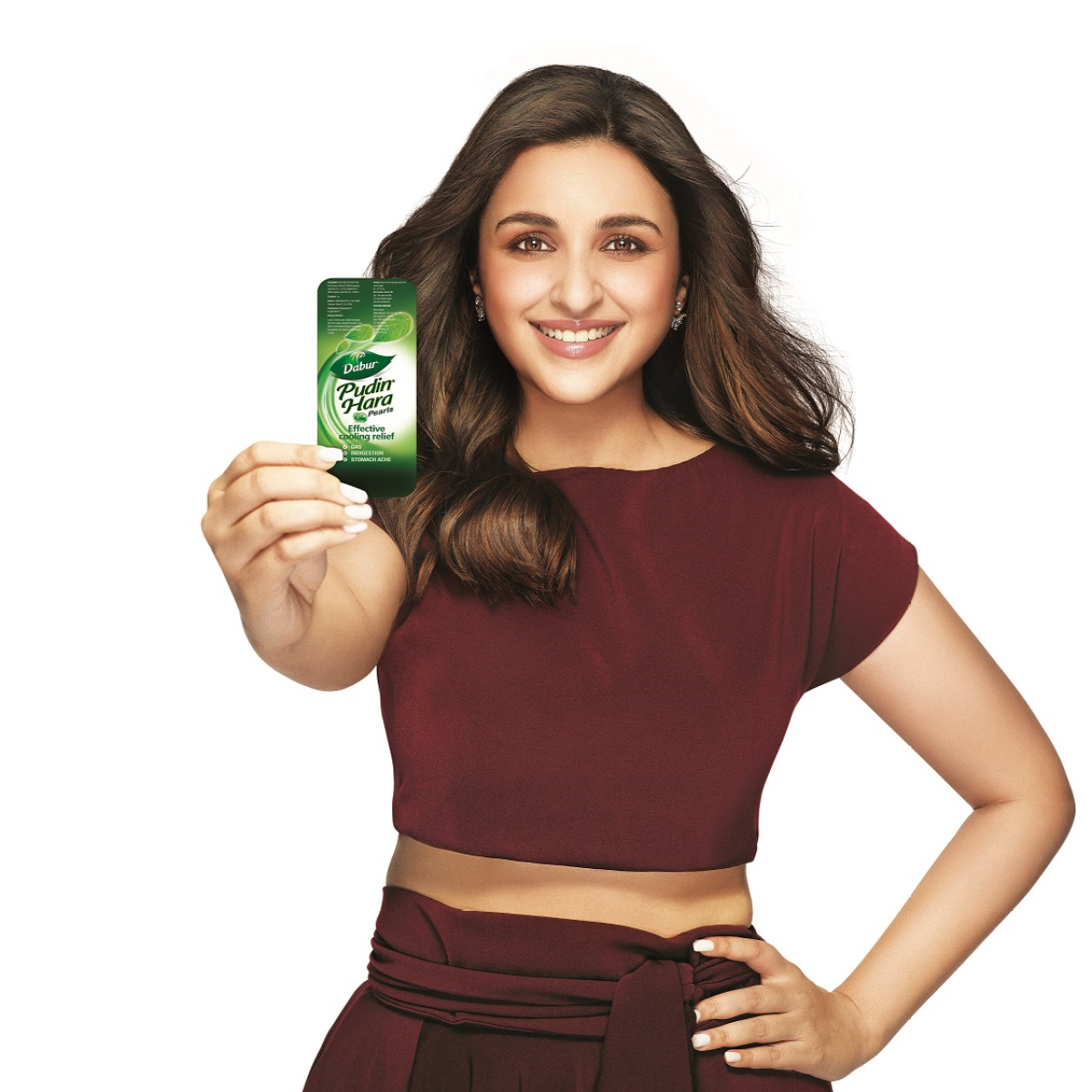Parineeti Chopra is the New Brand Ambassador for Dabur Pudin Hara