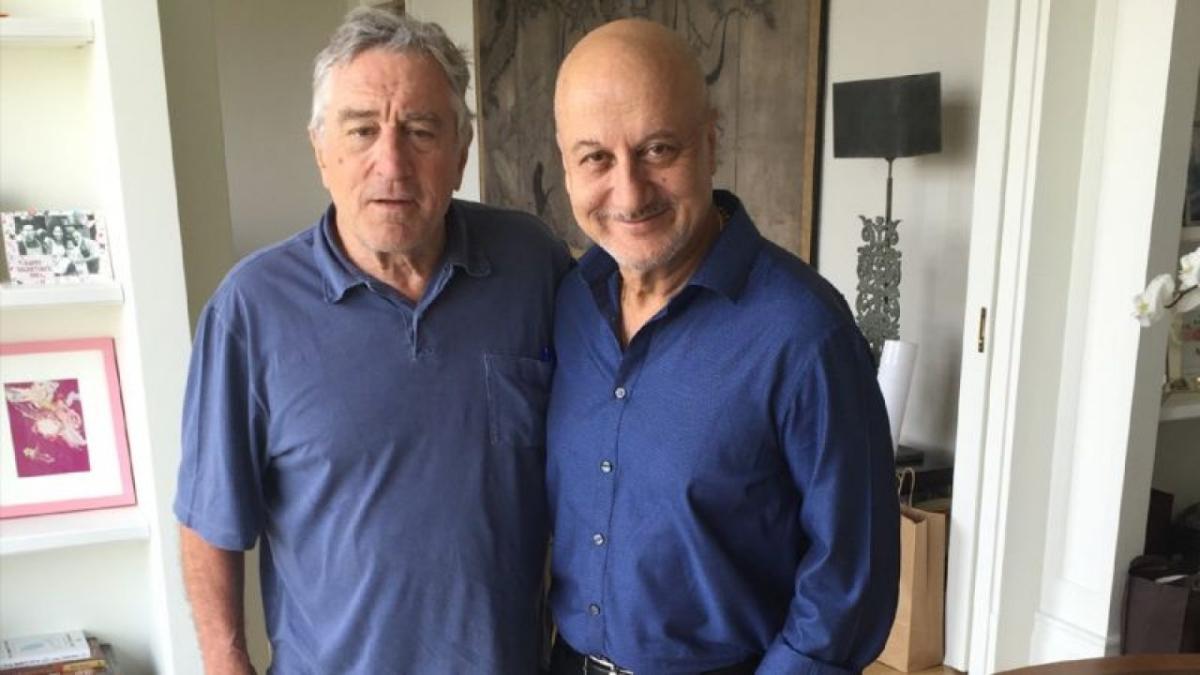 Anupam Kher reveals Robert De Niro checks on ailing Kirron Kher every few days