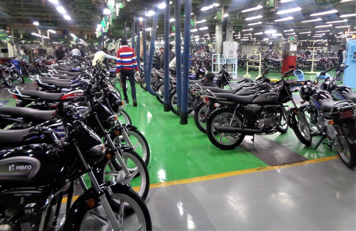 Hero MotoCorp to restart operations gradually in three plants from May 17