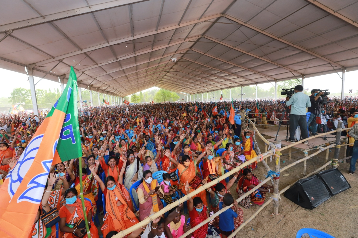 Rise of BJP even in 2021 polls remained unabated in West Bengal