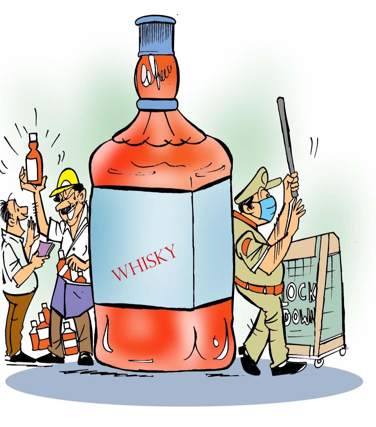 Bhopal: 'Pehelwans' flex their muscles, get into liquor black-marketing