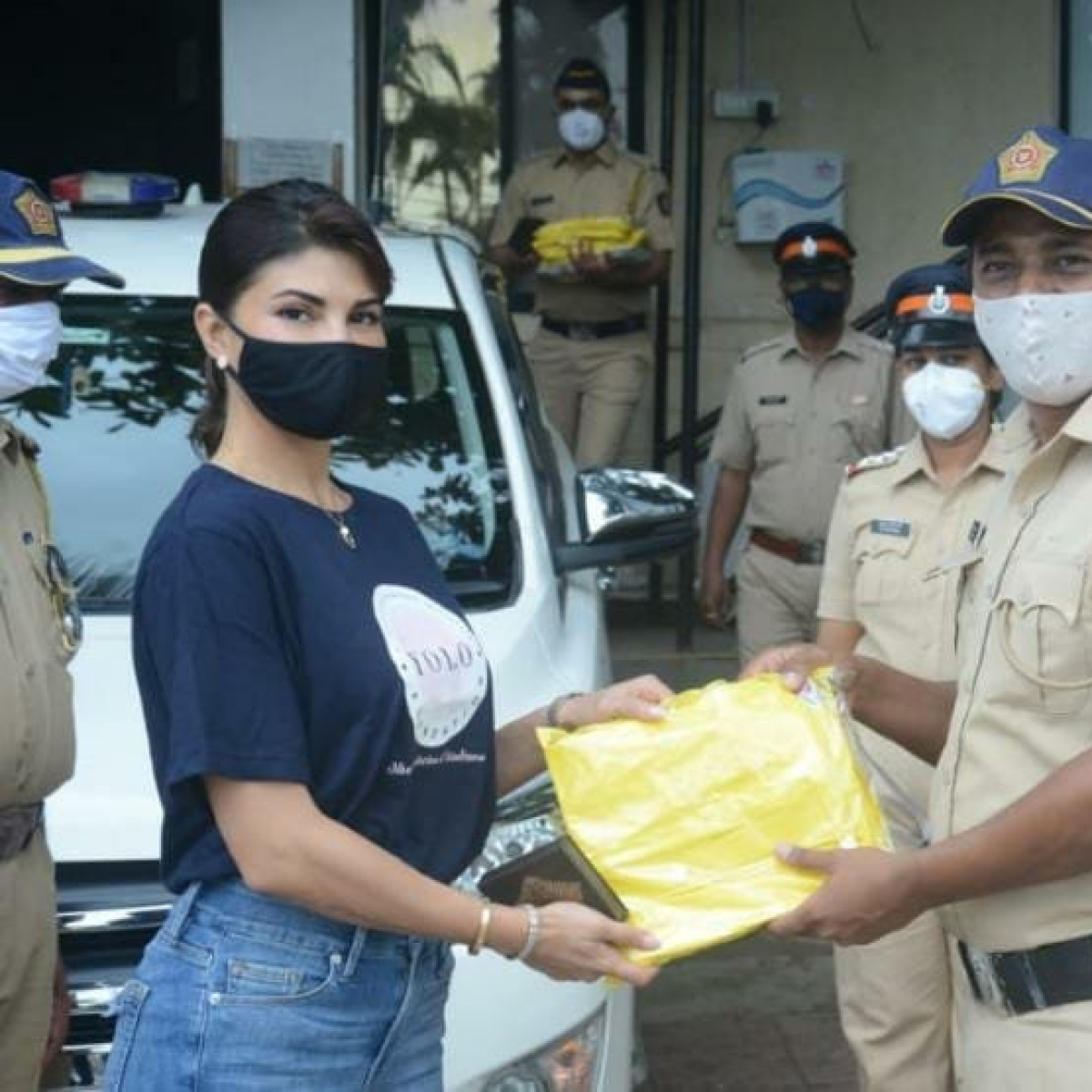 Jacqueline Fernandez thanks Mumbai Police for 'always being on their toes'