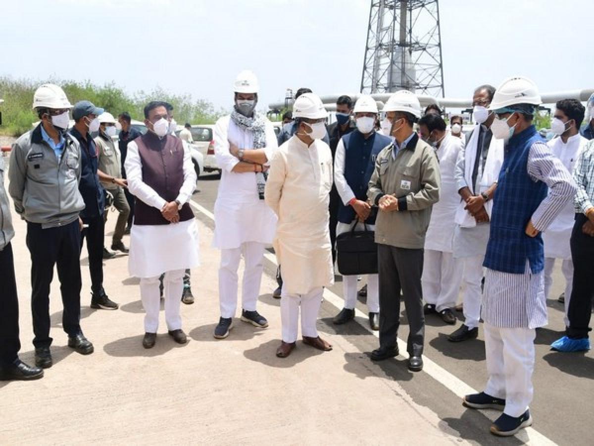 Union Minister Dharmendra Pradhan reviews Bharat Oman Refinery Ltd