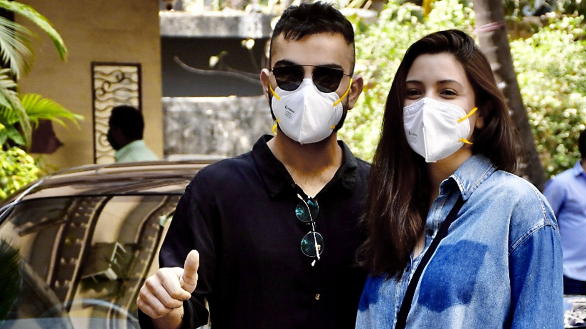 File image of Anushka Sharma and Virat Kohli