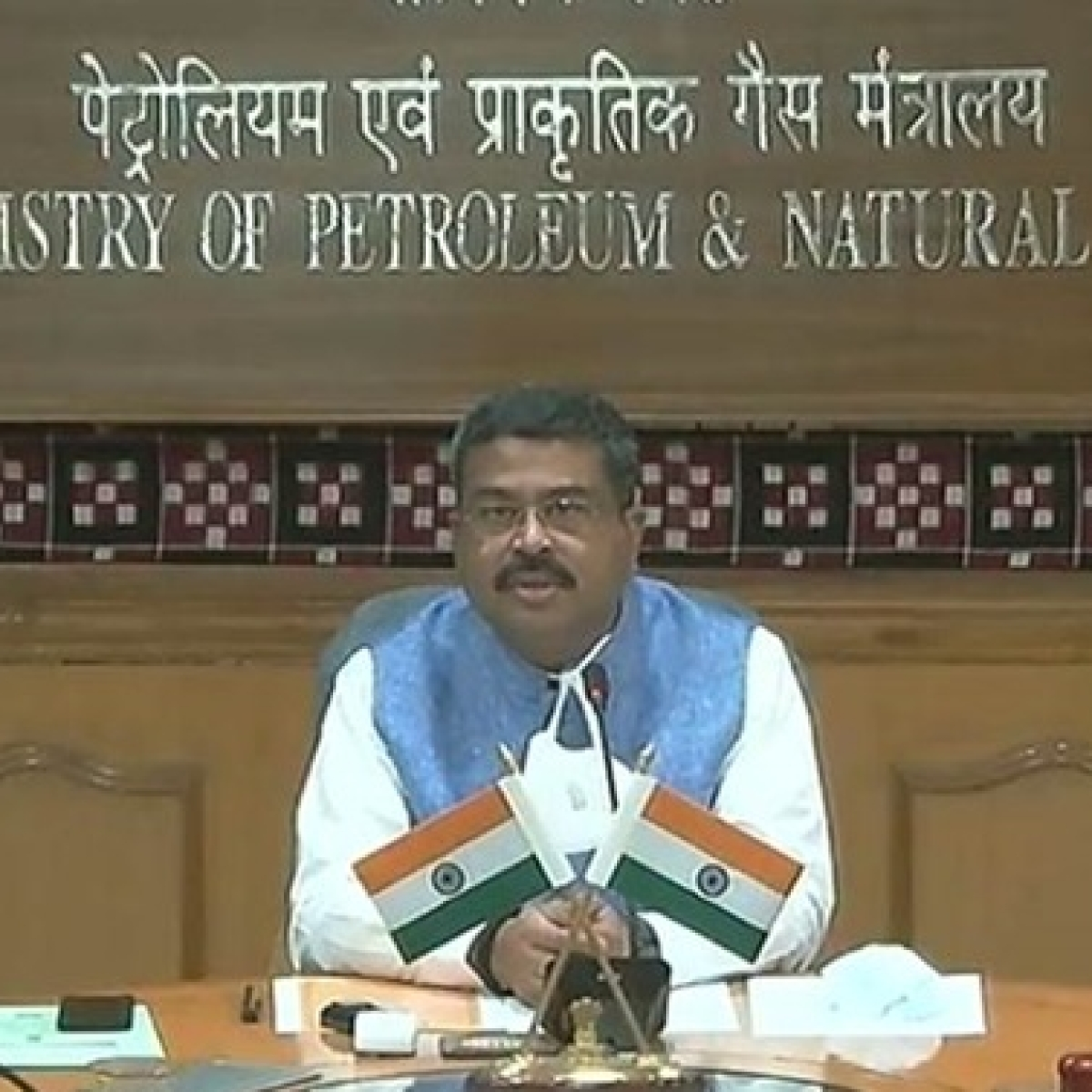 Petroleum Minister flags off 1st supply of Used Cooking Oil-based Biodiesel from IndianOil's Tikrikalan Terminal