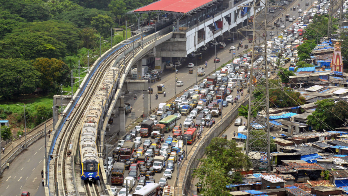 In Photos: CM Uddhav Thackeray flags off trial run of Mumbai's Metro Line 2A & 7