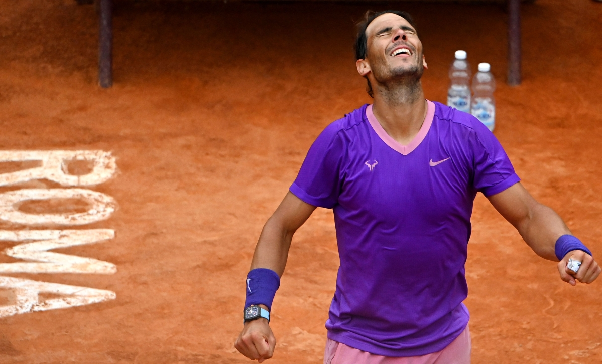 Italian Open Tennis: Nadal storms into final