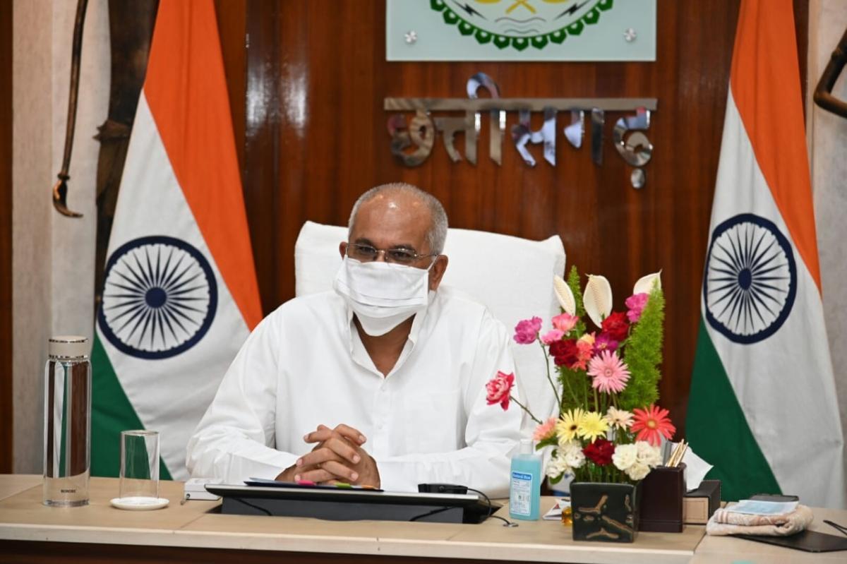 Chhattisgarh: CM Baghel requests Nirmala Sitharaman to grant relief in taxes and loan moratorium