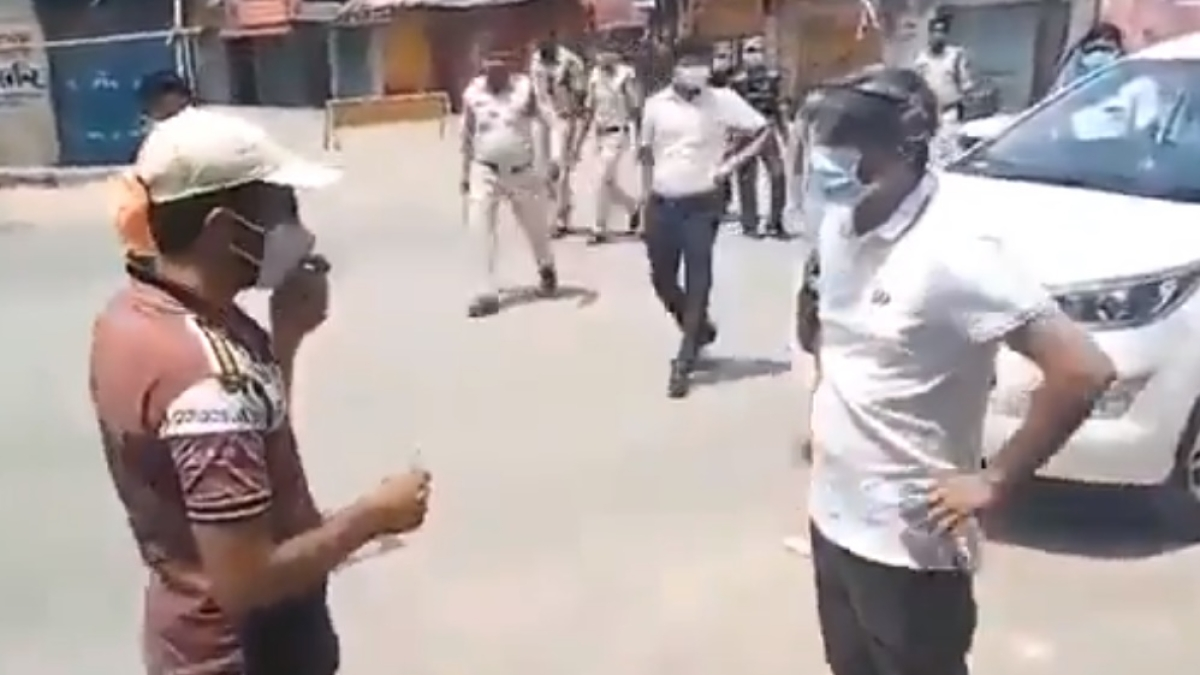 'Absolutely shameful': Twitter after Chhattisgarh's Surajpur Collector slaps man, smashes his phone for violating lockdown norms