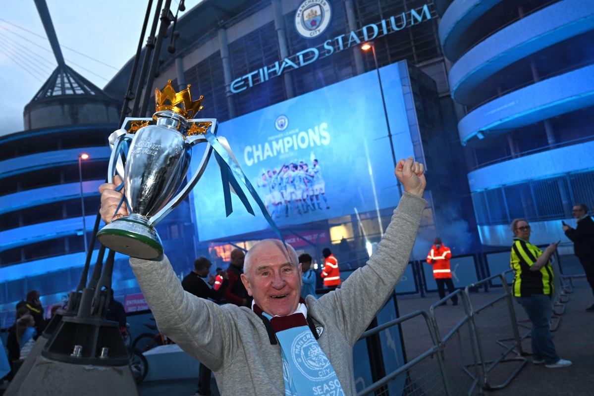 Manchester City crowned champions of English Premier League for fifth time in 10 years