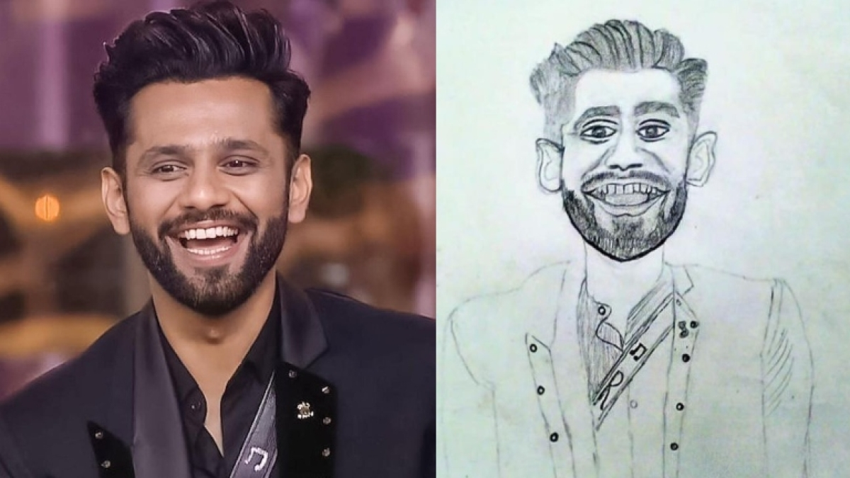'Have some respect': Netizens express disappointment after Rahul Vaidya trolls fan's sketch