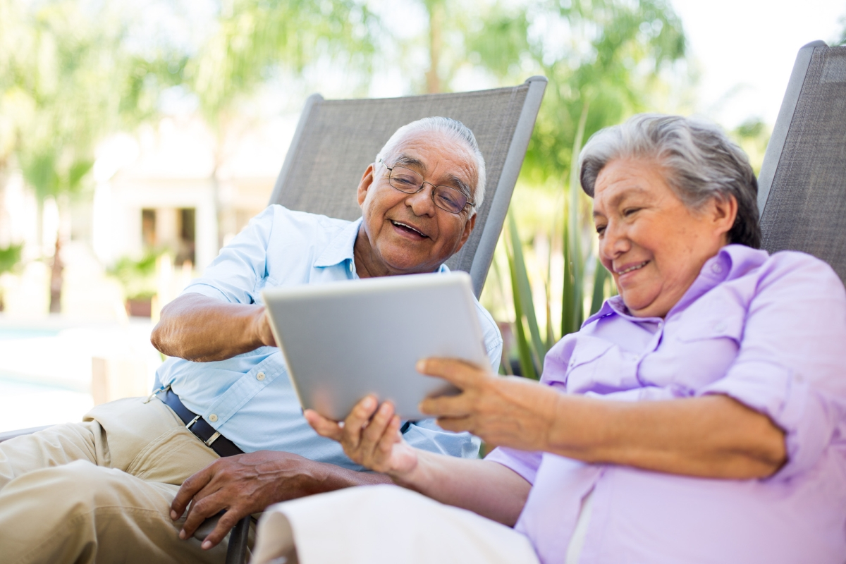 Most older adults are now well-versed with technology, thanks to lockdown!