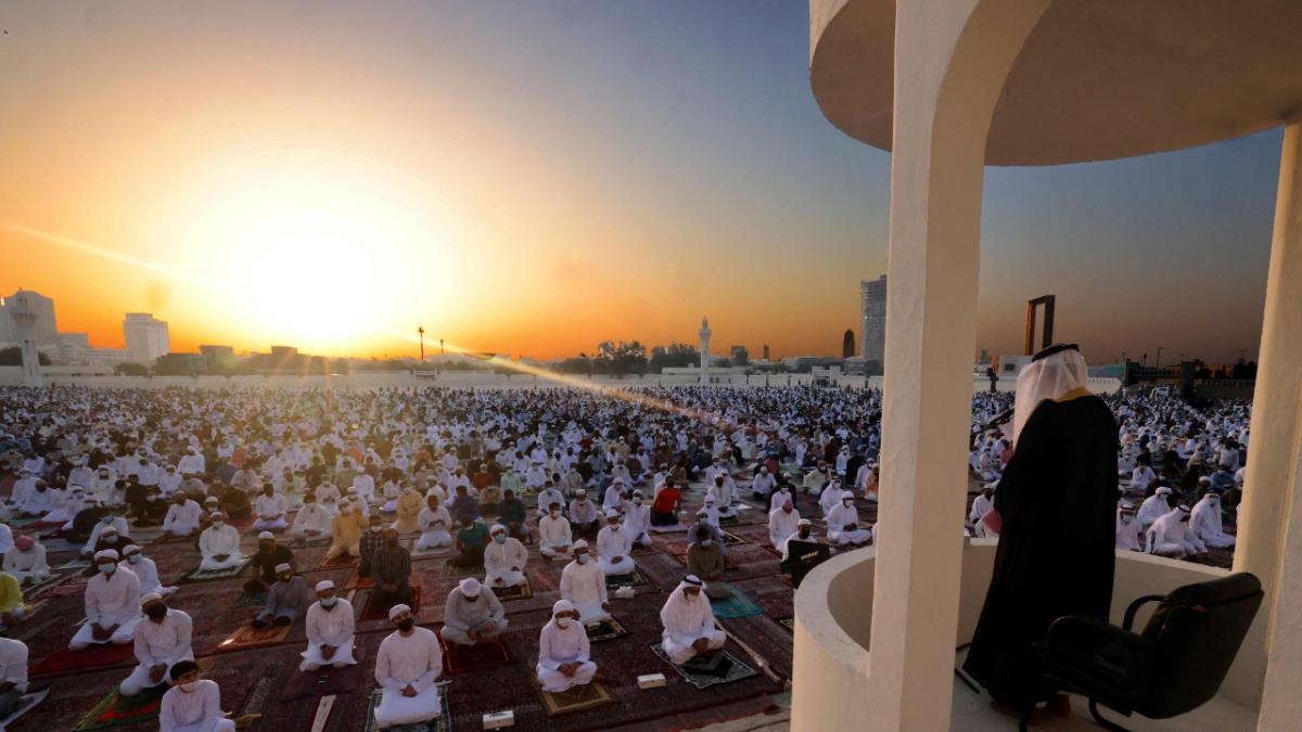 In pics: How a coronavirus-stricken world is celebrating Eid ul-Fitr in 2021
