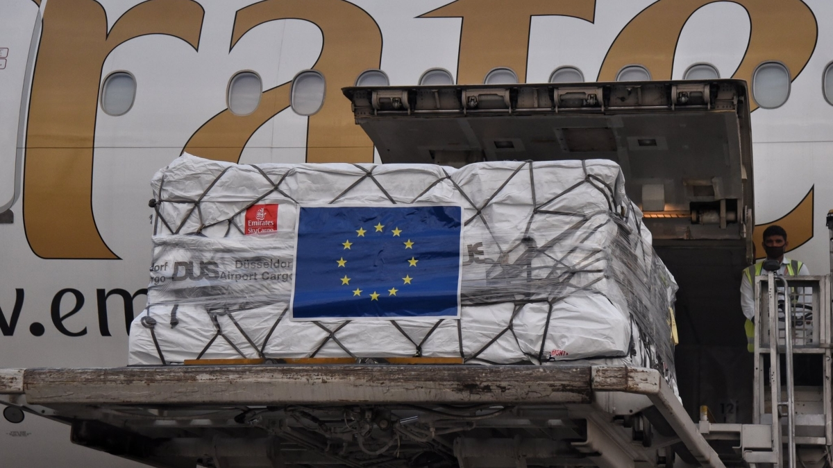 COVID-19: India receives shipment of ventilators, Remdesivir from EU member states