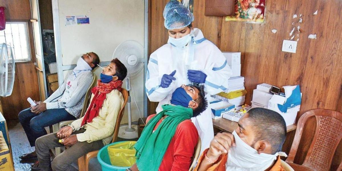 Coronavirus caseload on the rise in Thane.