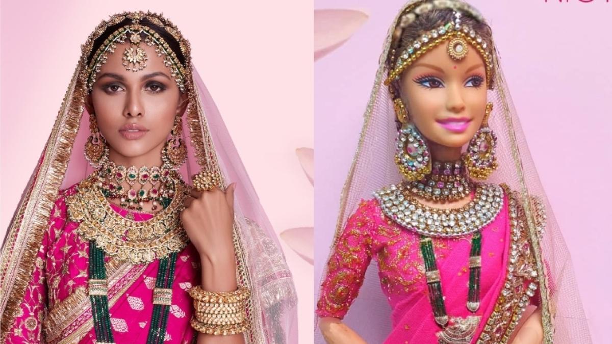After Anushka and Aishwarya, Sri Lankan artist creates doll inspired by Miss Universe runner up Adline Castelino