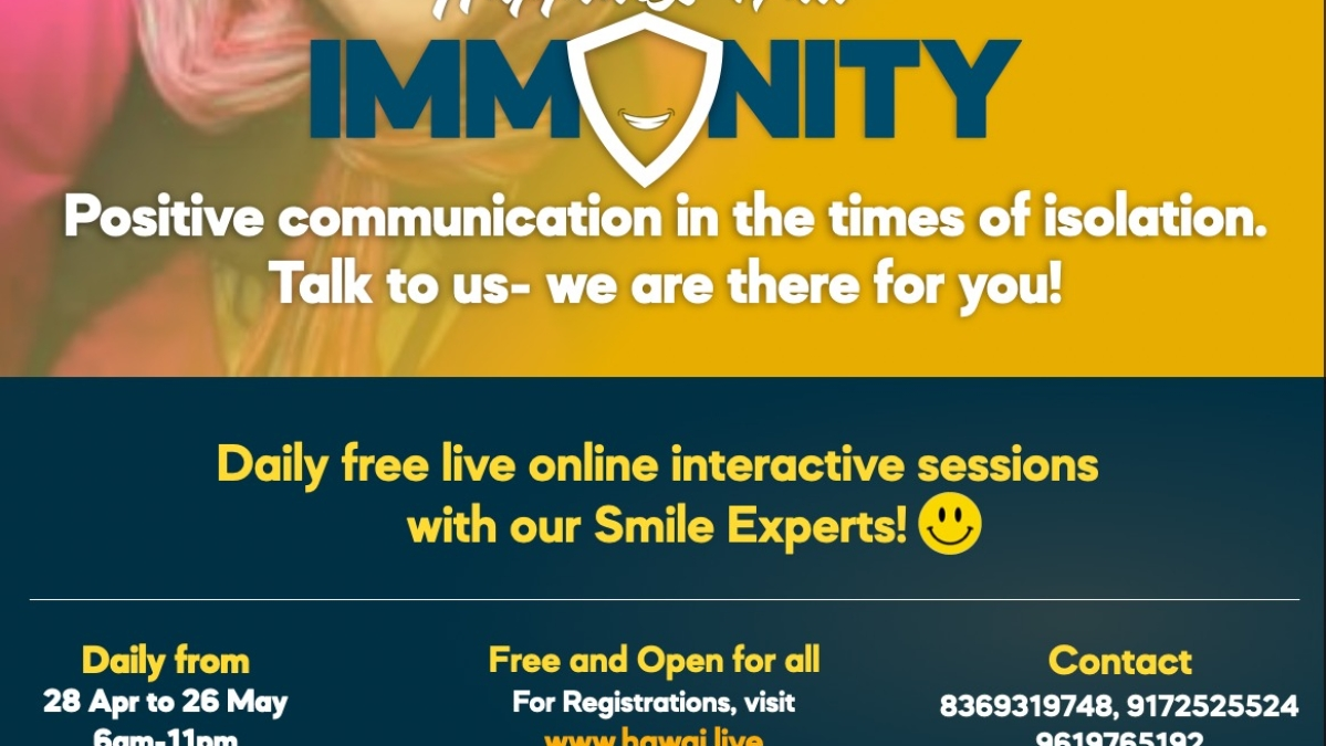 'Happiness wali immunity': Here's how you can attend free online sessions on positive communication amid COVID-19 pandemic