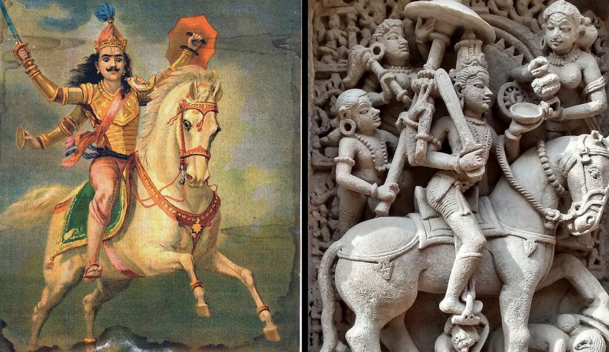 Depictions of Kalki Avatar of Lord Vishnu
