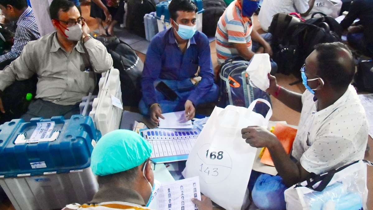 Assembly election results: Counting of votes begins in 4 states, Puducherry