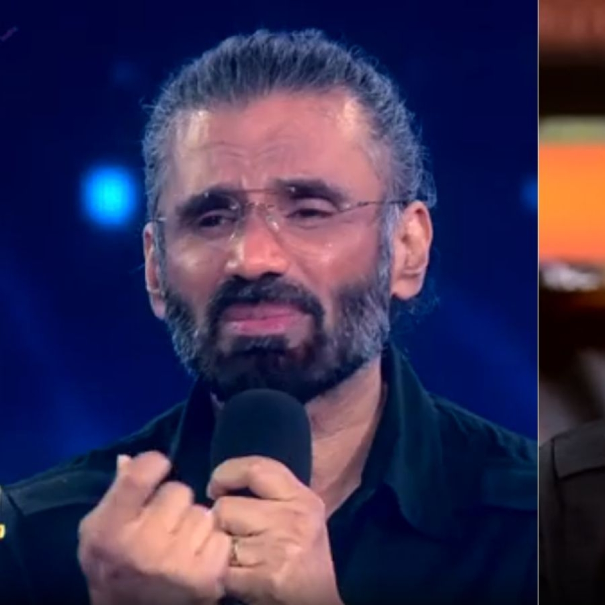 Watch: Suniel Shetty breaks down after watching 'Sandese Aate Hain' performance on 'Super Dancer 4'