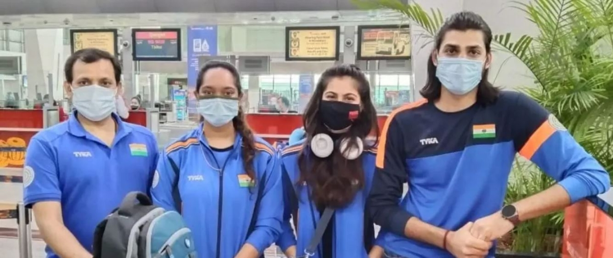Indian shooters take off: The Olympic-bound team is off for training-cum-competition tour of Croatia, a tune-up for Tokyo Games